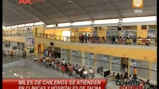 """Chilenos """"locos"""" por Tacna (Dom 26 Enero 2014)"""